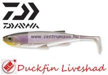 Daiwa Duckfin Liveshad prémium gumihal 10cm 3db Purple Ghost (16705-005)