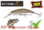 Savage Gear 3D Minnow Diver 7.5cm 9g F 01-Minnow wobbler (57364)