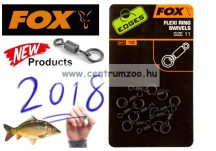 FOX EDGES™ Flexi Ring Swive size 11 karikás forgókapocs 10db (CAC609)