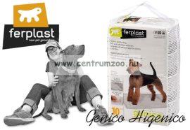 Ferplast Genico Large 10db higiéniai alátét kutyapelenka emelt nedvszívó képességgel