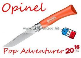 OPINEL Pop & Fuchsia Adventurer zsebkés 8cm pengehosszal (001426) - Tangerine