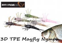 Savage Gear 3D TPE Mayfly Nymph 5cm 2.5g - 01-Brown (50671) barna