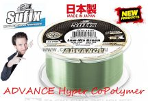 Sufix ADVANCE Hyper CoPolymer 300m G2 Winding 0,23mm/5,0kg/GREEN monofi zsinór