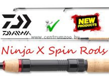 Daiwa Ninja X Light Spin 1,90m 3-12g pergető bot (11627-191)