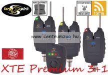 Carp Spirit XTE Premium 3+1 Alarm Set elektromos kapásjelző szett 3+1 (ACS490019)