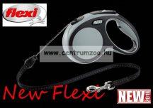 Flexi New Comfort M Cord zsinóros póráz 5m 20kg - SZÜRKE (11744)