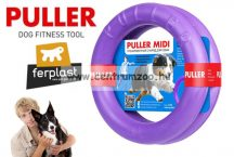 Ferplast Puller Midi - Dog Toy kutya játék húzogató és dobó karika 19x6,4cm  2db (86782099)