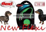 Flexi New Comfort M Cord zsinóros póráz 5m 20kg - ZÖLD (11743)