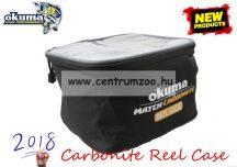 Okuma Match Carbonite Reel Case 20x20x13cm orsó és szereléktartó táska (54176)