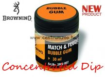 BROWNING Match & Feeder Dip Orange Bubble Gum 30ml tömény dip (3900002) - narancs