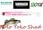 Shirasu Soft Lures Holo Yoko Shad gumihal 7,5cm (13632023) Pink Lady colours