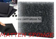 HOBBY  Premium MATTEN SZŰRŐSZIVACS TM25 - ritka - 50*50*5cm  (D20481) fekete