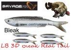 SAVAGE GEAR LB 3D Bleak Real Tail 8cm 3g 5pcs 01-Bleak gumihal (48732) küsz utánzat