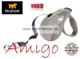 Ferplast AMIGO TAPE SMALL 5m automata póráz DOVE GREY