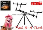 PROLOGIC Tri-Lux Pod 3 Rod masszív 3 botos rod pod (54355)