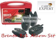 Carp Expert Brenta rádiós kapásjelző szett 3+1db (78000-181)