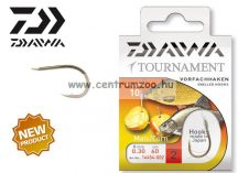 Daiwa Tournament X Power Mais Snelled Hooks előkötött horog - KUKORICÁS (1454) (14454-0 )