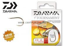 Daiwa Tournament X Power Mais Snelled Hooks előkötött horog - KUKORICÁS (1454) (14454-0 )