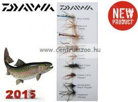 Daiwa Daddies & Hoppers  Flies Selection DFC13 műlégy szett NEW Collection