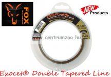 FOX Exocet® Double Tapered Line Trans Khaki  0.33-0.50mm 300m monofil dobófejes zsinór (CML156)