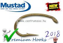 Mustad  SIGNATURE HOOKS, SHRIMP horog (CO68NP-BR-  -M25)
