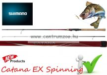 Shimano bot CATANA EX Spinning 2,7m MediumHeavy pergető bot (SCATEX27MH) 14-40g