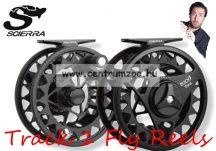 Scierra TRACK 1 FLY REEL #7/8 Black  prémium legyező orsó (54137)