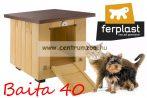 Ferplast Baita  40 Mini fa ház  50x42x43cm (87012800)