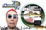 Okuma Ultramax 2oz Zander 13lbs 6.9kg 0.28mm Grey 540m (19157)