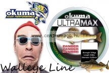 Okuma Ultramax 2oz Zander 13lbs 6.9kg 0.28mm Grey 540m (19157)