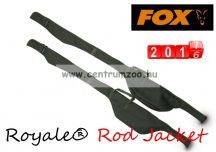FOX Royale® Rod Jacket Royale Single 12ft Jacket bottartó táska (CLU194) 360cm-es 2r bojlis botokhoz