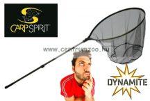 MERÍTŐ Dynamite  Baits CARP SPIRIT LANDING NET MERÍTŐHÁLÓ FIX KEREK 75x65cm FEJJEL GUMÍROZOTT HÁLÓVAL 235cm nyél (5053235)