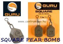 GURU Square Leads Bomb feeder ólom 1,5OZ 43g (GL04)