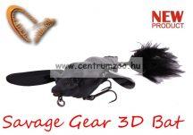 Savage Gear 3D Bat 10cm 28g Black (58327) denevér formájú műcsali
