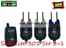 Carp Zoom Satellite 301 Elektromos kapásjelző szett 3+1 (CZ6520)