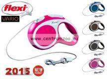 Flexi Vario NEW M PINK 5m 20kg automata póráz -rózsaszín