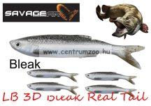 SAVAGE GEAR LB 3D Bleak Real Tail 10.5cm 8g 5db 01-Bleak gumihal (48734) küsz utánzat