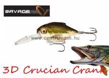 Savage Gear 3D Crucian Crank34 3.4cm 3.4g SF DR 01-Natural (53769)