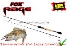"FOX Rage Terminator® Pro Light Game Spin 5'6"" 168cm 14-35g 2rész pergető bot (NRD212)"