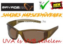 Savage Gear Slim Shades Floating Polarized Sunglasses - Amber napszemüveg (57571)