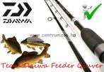 "Daiwa TEAM DAIWA 12FT 6"" MEDIUM QUIVER FEEDER ROD feeder bot 405cm (203012) (TDF126PQ)"