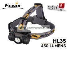 fejlámpa  FENIX HL35 FEJLÁMPA (450 LUMEN) vízálló (FHL35)