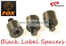 FOX Black Label Spacers magasító adapter 3db (CBB010)                              )