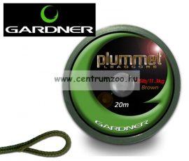 GARDNER Plummet Leadcore Green 25lb (11,3kg) 20m  (PLCG)