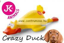 JK Animals Crazy Duck sípolós kacsa 25cm (46404)