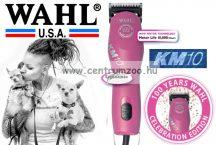 WAHL KM10 Animal Clipper Pink 100 Years - erős nyírógép  csendes motorral (1261-0474)