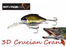 Savage Gear 3D Crucian Crank34 3.4cm 3g F SR 05-Black (53768)