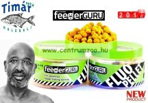 TIMÁR MIX Feeder Guru Fluo horog pellet 50g - Black Magic - halas, fűszeres