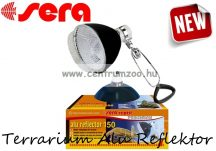 Sera Terrarium Alu Reflektor terráriumi lámpatest kerámia foglalattal (32014)