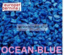 EUROPET BERNINA Aqua D'ella Glamour Stone 6/9mm 2kg OCEAN-BLUE akváriumi kavics aljzat (257-420539)
